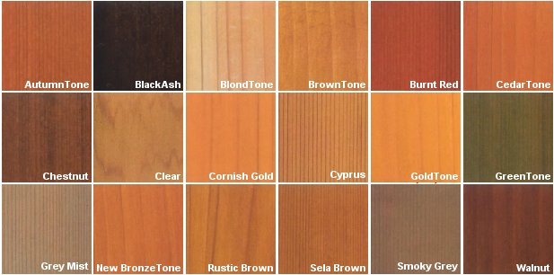 Red Cedar Color ~ Green wood preservative in the eco mart catalog