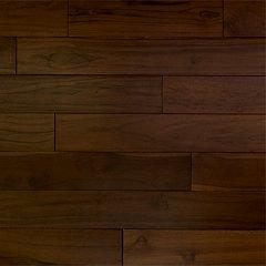 Dark Chocolate Teakwood Flooring