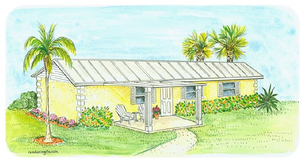 Hurricane resistant modular home 630 sf 1br in the eco for 1br mobile home