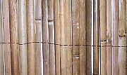 Rolled Split Bamboo Fence