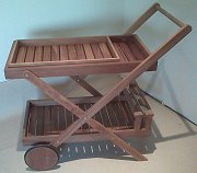 FSC Teakwood Garden Cart