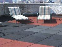 Eco Rubber Outdoor Tiles