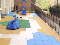 Eco-Rubber Playground & Safety Tiles