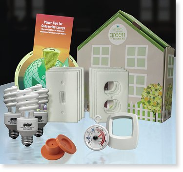 Energy Saving Electric Home Upgrade Kit in the Eco-$mart Catalog
