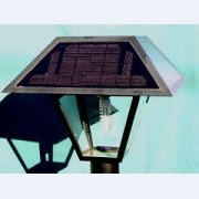 Solar LED Standard Coach Light