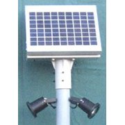 Solar LED Dock and Area Light